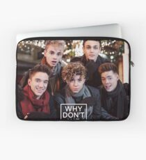 Why Don't We Merry Christmas Laptop Sleeve