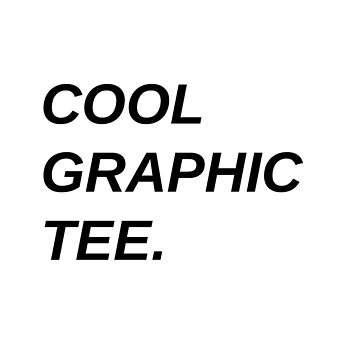 Cool Graphic Tee by loreendb