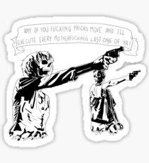 Skull Fiction Honey Bunny Sticker