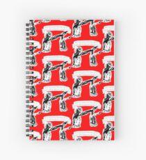 Skull Fiction Honey Bunny Spiral Notebook