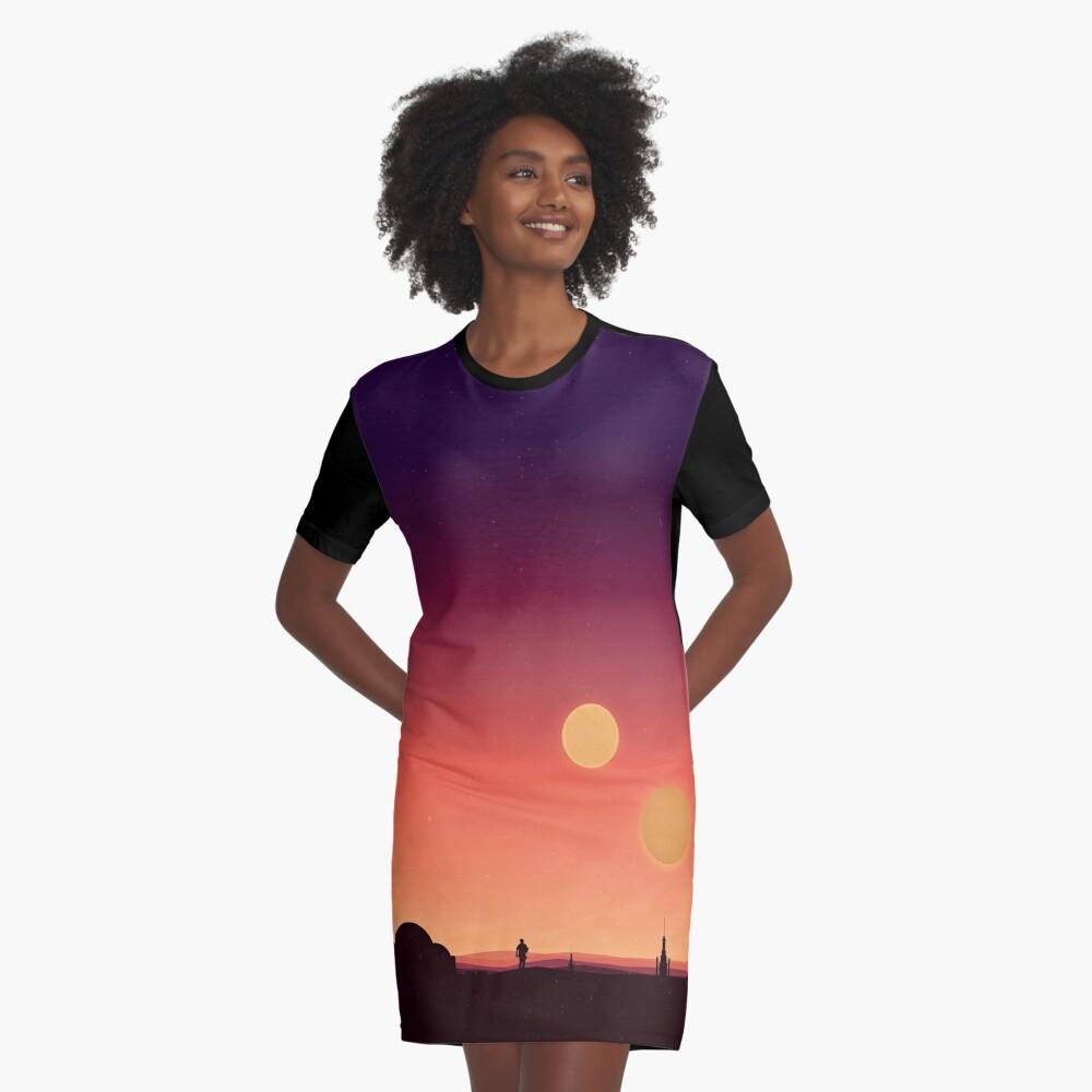 Tatooine T-Shirt Kleid