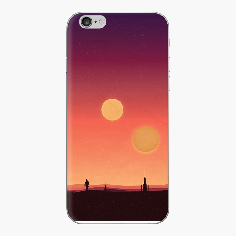 Tatooine Vinilo para iPhone