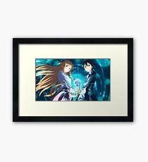 Sword art online Framed Print