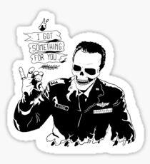 Skull Fiction Captain Koons Sticker
