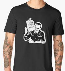 Skull Fiction Captain Koons Men's Premium T-Shirt