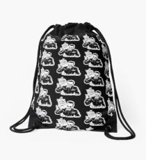 Skull Fiction Captain Koons Drawstring Bag