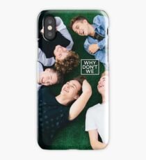 Why Don't We Laugh Poster iPhone Case/Skin