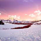 Sunrise In the Tetons by Nancy Richard