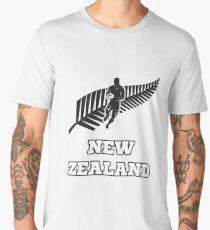 Rugby New Zealand Distressed Shirt Men's Premium T-Shirt