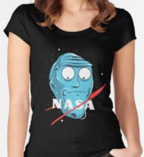Rick and morty - Show Me What You Got Nasa Women's Fitted Scoop T-Shirt