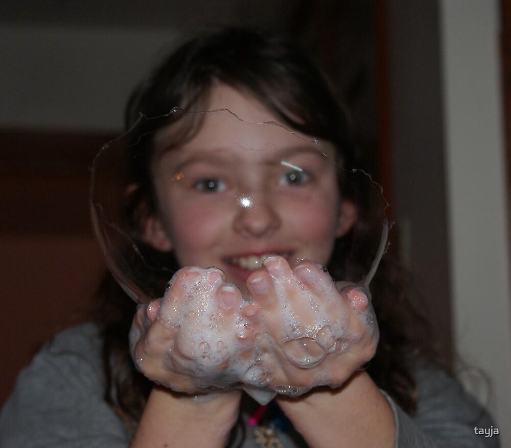 Popping Bubble by tayja