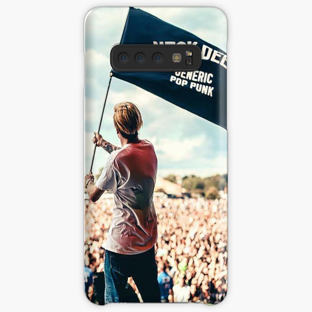 Ben Barlow Neck tiefe Flagge Hülle & Klebefolie für Samsung Galaxy