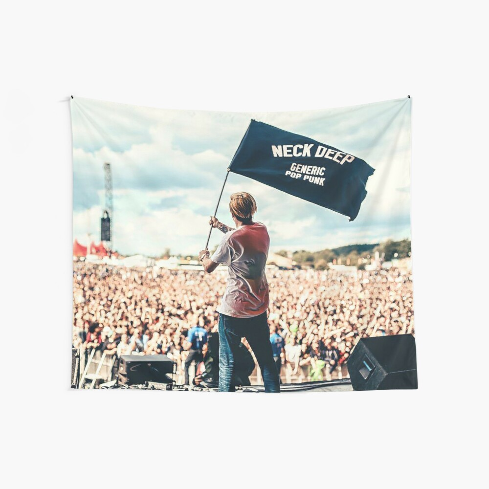 Ben Barlow Neck tiefe Flagge Wandbehang