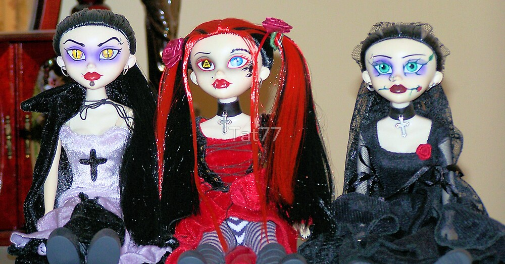 My Goth Dolls by Tat77