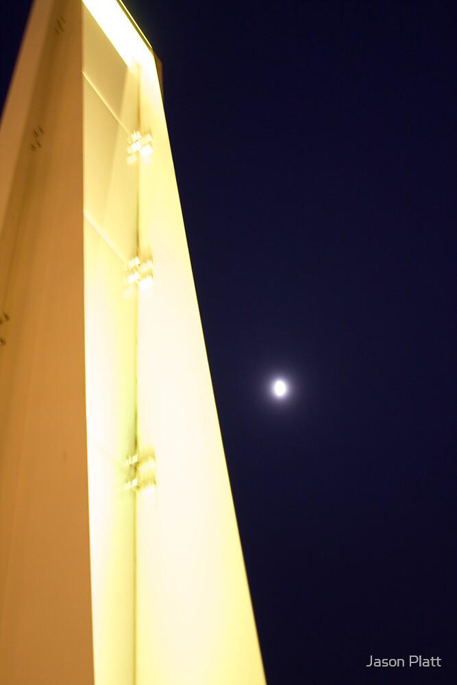 boston moonrise by Jason Platt