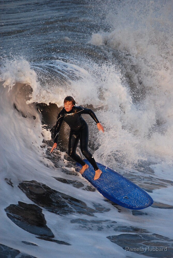 Riding the Wave by Pamela Hubbard
