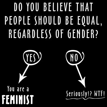 Quiz: Are you a FEMINIST?  (white) by designite