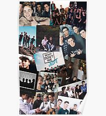 Why Don't We Pic Collage Poster