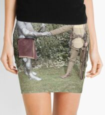 British WWI soldier meets medieval fella, 1917 Mini Skirt