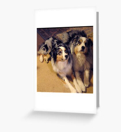 Youth and Age Greeting Card