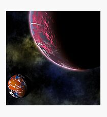Planets in the Cosmos Photographic Print
