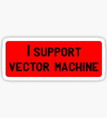 support vector machine Sticker