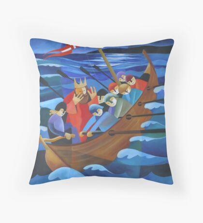 KING CHRISTIAN II's DILEMMA 1523 Throw Pillow