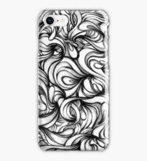 ABSTRACT WAVES 2 iPhone Case/Skin