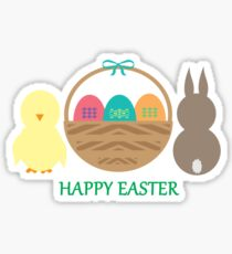 Easter Basket  Sticker