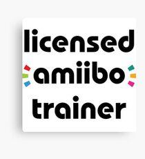 Licensed amiibo trainer Canvas Print