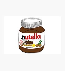 Nutella Drawing Photographic Print