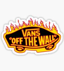Vans Thrasher Redesign Sticker