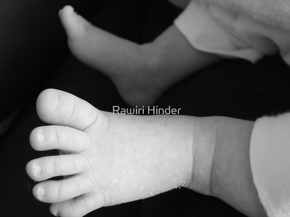 Little Feet by Rawiri Hinder