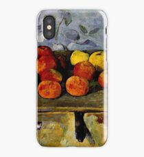 Cezanne - Apples and Biscuits iPhone Case/Skin
