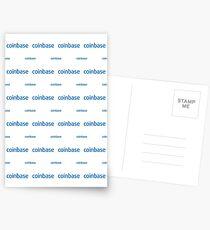 Coinbase - Crypto Destination Art - New Generation Fashion (Medium) Postcards