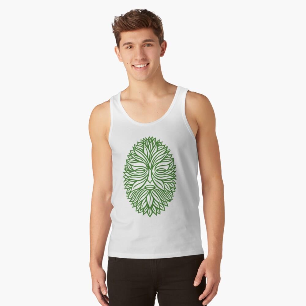 The Green Man Tank Top
