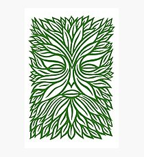 The Green Man Photographic Print