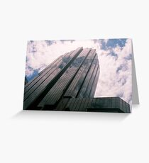Big City Skyline........cloud cannon Sydney CBD Greeting Card