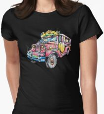 JEEPNEY Women's Fitted T-Shirt