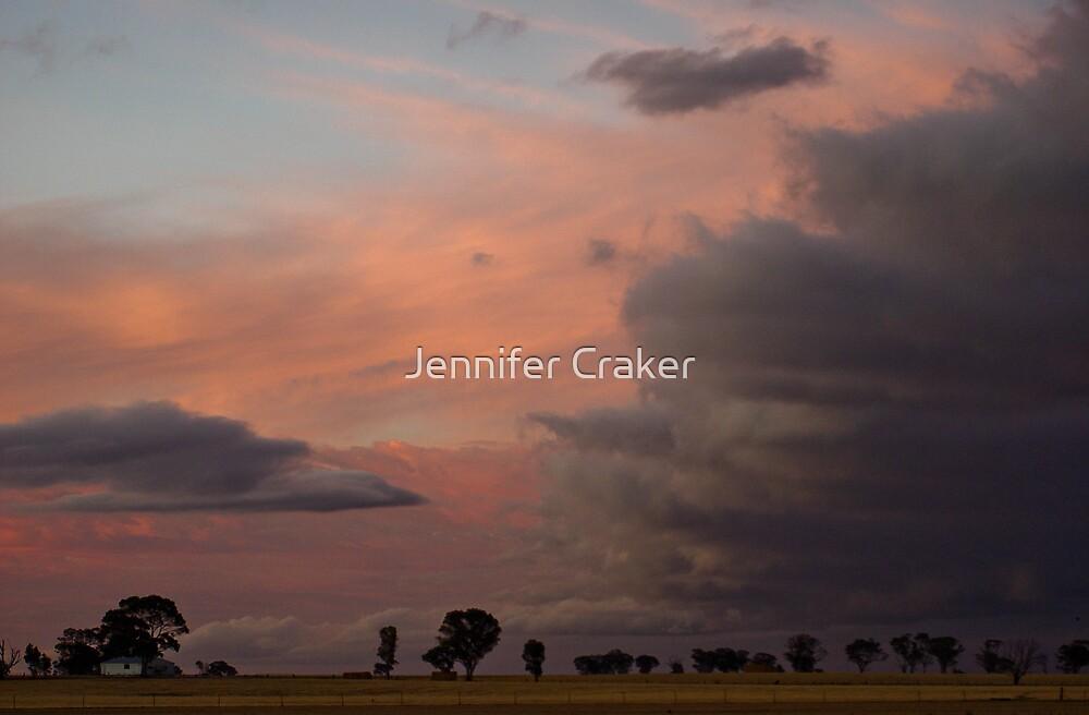 The menacing sky by Jennifer Craker