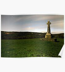 Dysert O'Dea Celtic Cross Poster