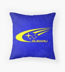 Subaru Throw Pillow