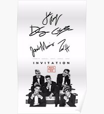 Why don't we signature Poster