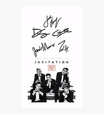 Why don't we signature Photographic Print