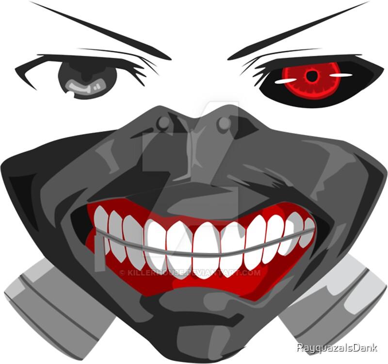 Tokyo ghoul kaneki ken mask by rayquazaisdank