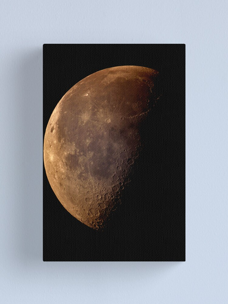 Alternate view of sunday moon Canvas Print