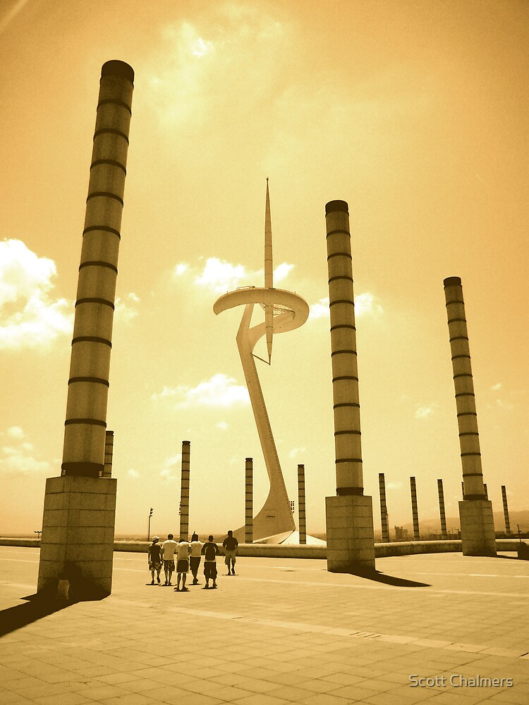 Barcelona TV Tower by Scott Chalmers