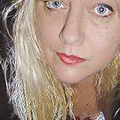 Blonde Self Portrait 3 by Anthea  Slade