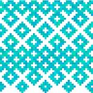 Azure embroidery by Losenko  Mila