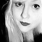 Blonde Self Portrait 4 by Anthea  Slade